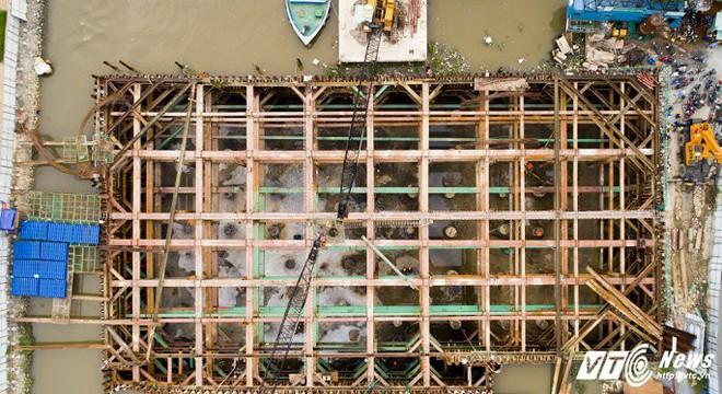 Hình ảnh mới nhất công trình chống ngập 10.000 tỷ đồng ở TP.HCM - Ảnh 3.