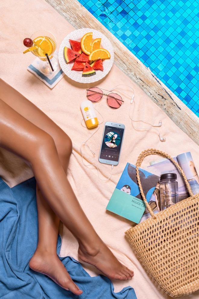 Độc quyền: Tặng ngay sạc pin Samsung khi đặt trước Galaxy A5 2017 Xanh Pastel - Ảnh 4.