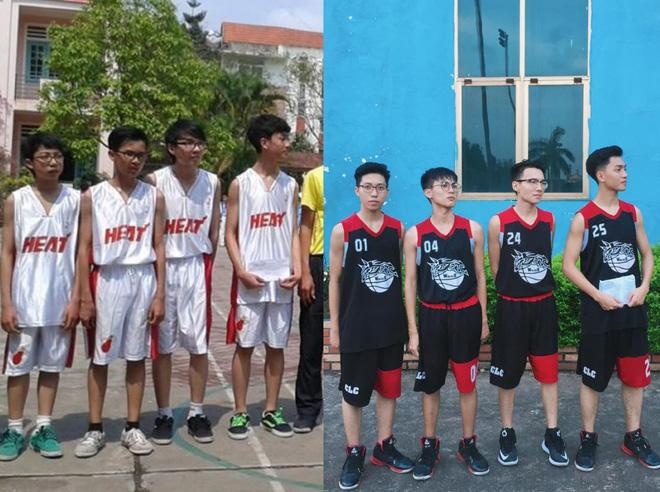 Vườn sao băng đời thực: Nữ sinh Lào Cai lọt thỏm giữa 4 chàng bạn thân đẹp trai, học giỏi, mê bóng rổ - Ảnh 4.