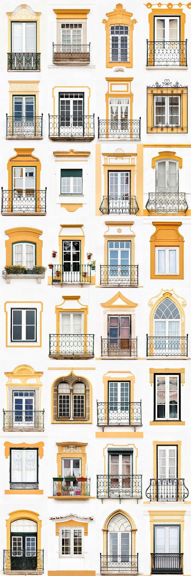 Mãn nhãn với 14 phong cách thiết kế cửa sổ ấn tượng ở Bồ Đào Nha - Ảnh 4.