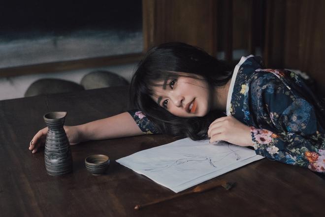 Mẫn Tiên gợi cảm trong bộ ảnh mới, tiết lộ tăng 8kg từ khi du học Nhật - Ảnh 4.