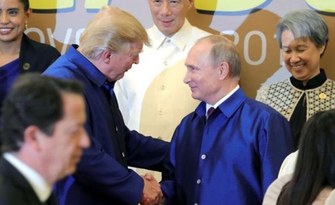 Áo tơ tằm Tổng thống Trump và lãnh đạo APEC mặc dự tiệc có gì đặc biệt - Ảnh 4.