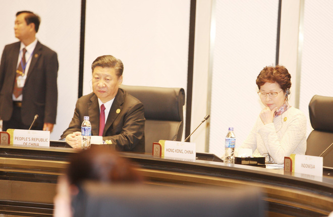 TOÀN CẢNH: Chủ tịch nước khai mạc Hội nghị các nhà Lãnh đạo kinh tế APEC - Ảnh 5.