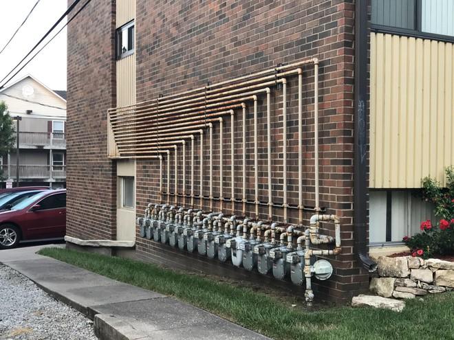 Ngắm 14 đường ống được lắp đặt chuẩn như xếp lốp - Ảnh 4.