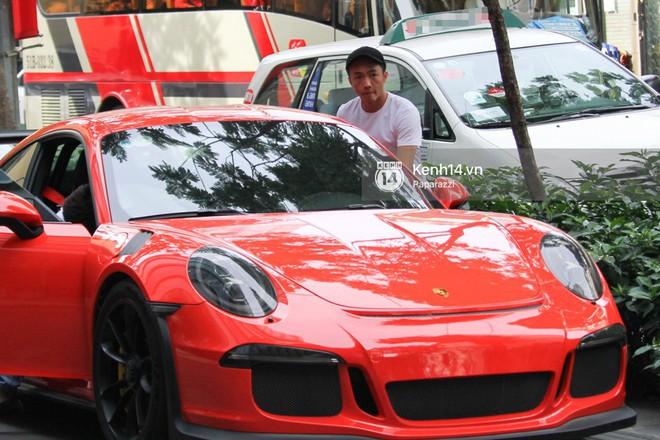 Cường Đô la - Đàm Thu Trang và Subeo đi chơi cuối tuần, nổi bật với siêu xe trên phố - Ảnh 5.