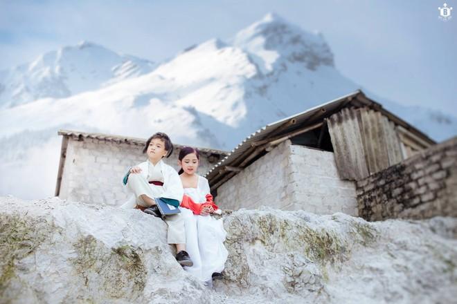 Nhiếp ảnh gia Bút Đỗ: Chụp với mẫu nhí Khánh Linh, Hữu Nhật vui lắm, có điều hai bé hay… đòi ăn - Ảnh 4.