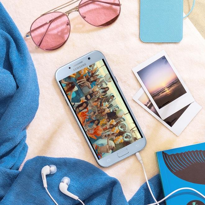 Độc quyền: Tặng ngay sạc pin Samsung khi đặt trước Galaxy A5 2017 Xanh Pastel - Ảnh 5.