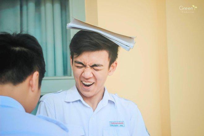 Cậu bạn trường Trần Đại Nghĩa với nụ cười má lúm gây sốt: Điển trai, giỏi cả bóng rổ lẫn piano - Ảnh 5.