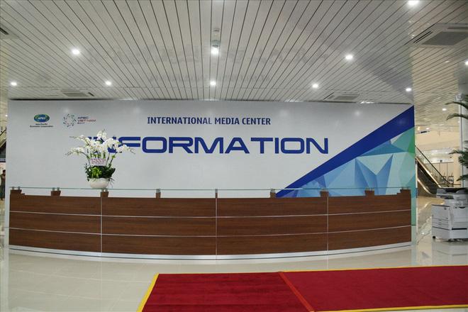 Cận cảnh trung tâm báo chí phục vụ 3.000 phóng viên quốc tế tại APEC 2017 - Ảnh 5.