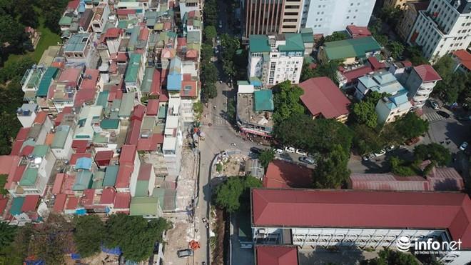 Đường dài hơn 0,5km giữa Thủ đô, làm gần 20 năm vẫn chưa xong - Ảnh 5.