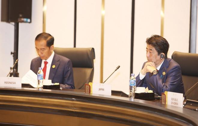 TOÀN CẢNH: Chủ tịch nước khai mạc Hội nghị các nhà Lãnh đạo kinh tế APEC - Ảnh 6.