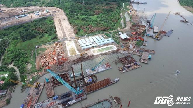 Hình ảnh mới nhất của công trình chống ngập 10.000 tỷ đồng ở TP.HCM - Ảnh 7.
