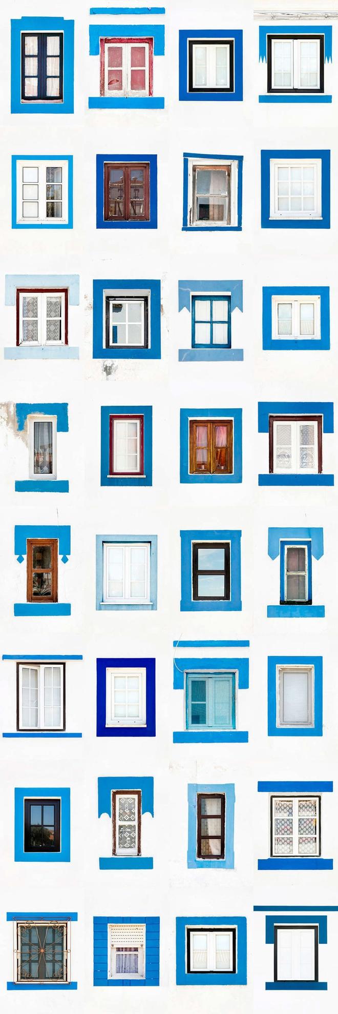 Mãn nhãn với 14 phong cách thiết kế cửa sổ ấn tượng ở Bồ Đào Nha - Ảnh 6.