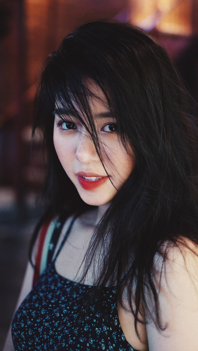 Mẫn Tiên gợi cảm trong bộ ảnh mới, tiết lộ tăng 8kg từ khi du học Nhật - Ảnh 6.