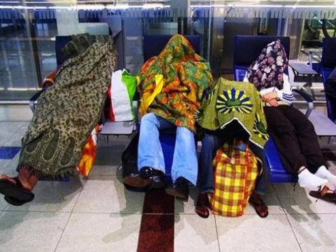 15 cảnh tượng khó hiểu bạn không thể ngờ được là có thể diễn ra ở sân bay - Ảnh 6.