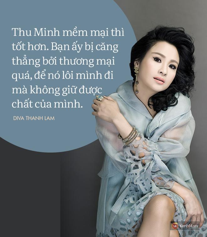 8 phát ngôn trong âm nhạc thẳng như ruột ngựa, chẳng ngại đụng chạm của Diva Thanh Lam - Ảnh 7.