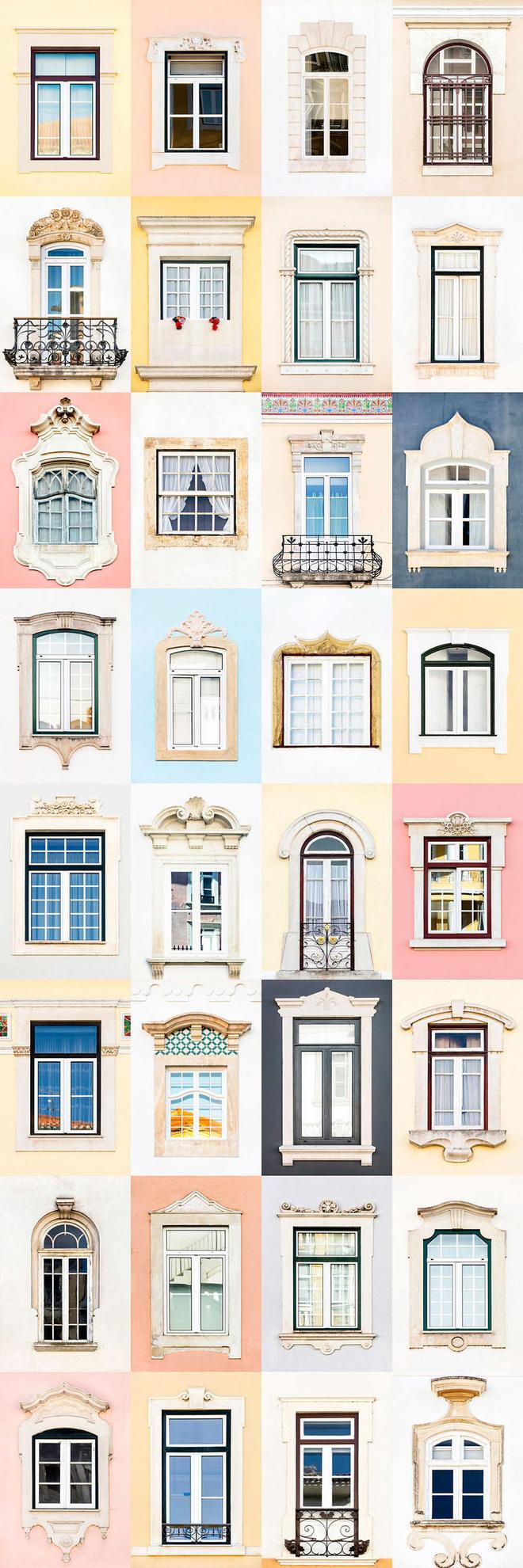 Mãn nhãn với 14 phong cách thiết kế cửa sổ ấn tượng ở Bồ Đào Nha - Ảnh 7.