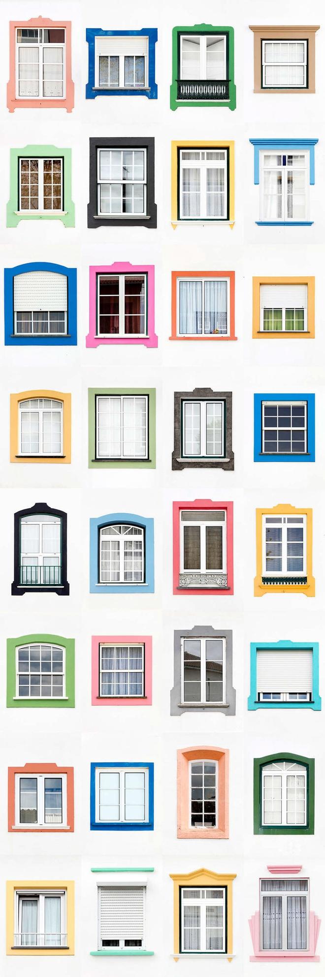 Mãn nhãn với 14 phong cách thiết kế cửa sổ ấn tượng ở Bồ Đào Nha - Ảnh 8.