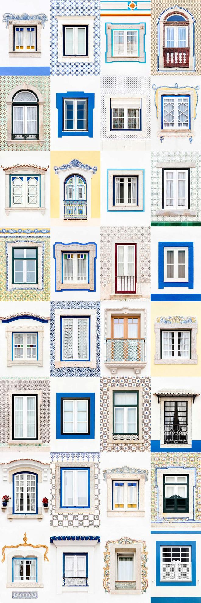 Mãn nhãn với 14 phong cách thiết kế cửa sổ ấn tượng ở Bồ Đào Nha - Ảnh 9.