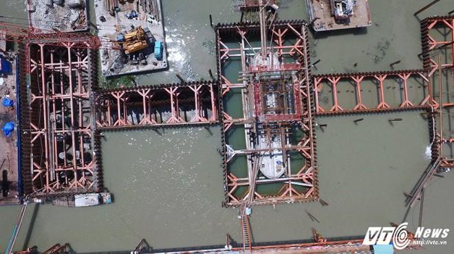 Hình ảnh mới nhất của công trình chống ngập 10.000 tỷ đồng ở TP.HCM - Ảnh 11.