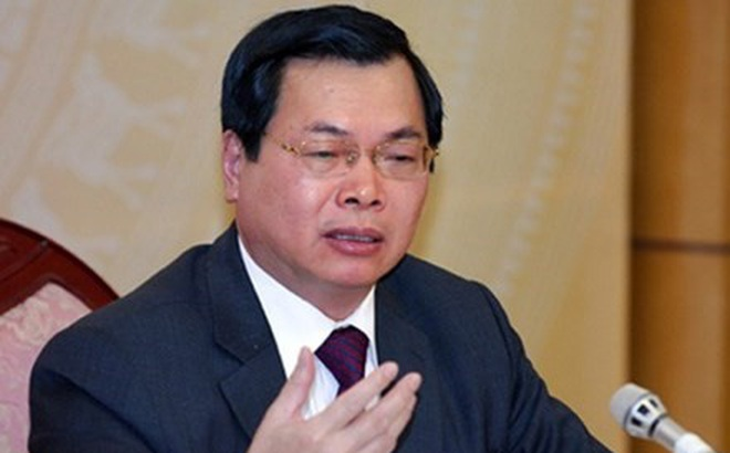 Xóa tư cách nguyên Bộ trưởng Công Thương Vũ Huy Hoàng
