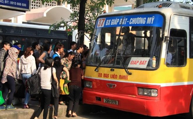 Xe buýt Hà Nội sắp dùng vé thông minh