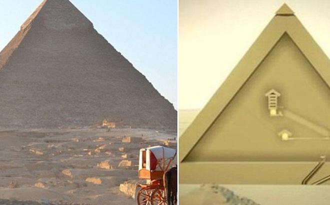 Bằng chứng về mật thất bên trong kỳ quan bí hiểm nhất thế giới - Đại kim tự tháp Giza