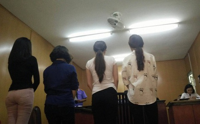 4 tú bà trong đường dây môi giới mại dâm 500 USD do ca sĩ, hoa hậu điều hành lãnh án 3 năm tù