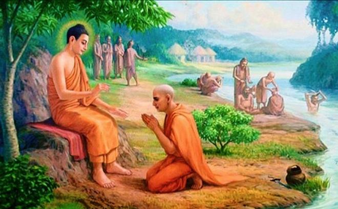 """Người đàn ông hỏi Đức Phật: """"Làm thế nào để sống thanh thản, vứt ..."""