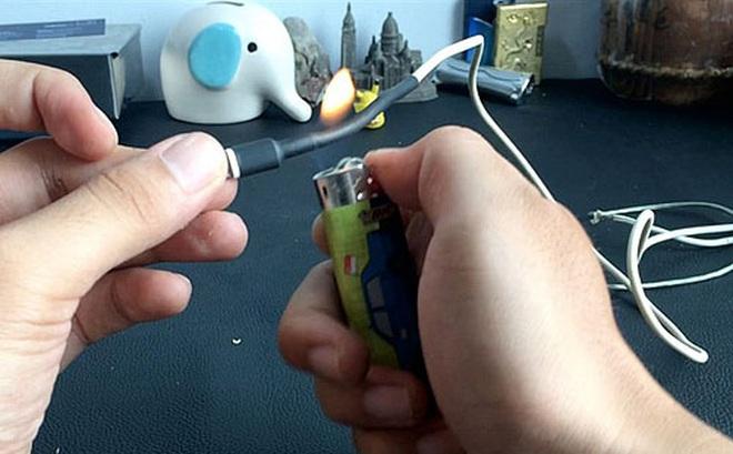 Mẹo bảo vệ cáp sạc smartphone, máy tính