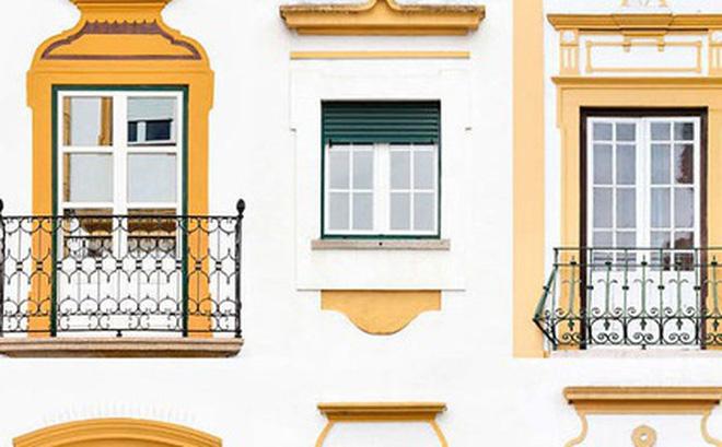 Mãn nhãn với 14 phong cách thiết kế cửa sổ ấn tượng ở Bồ Đào Nha