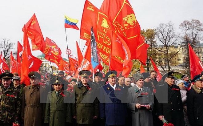 Cách mạng tháng Mười Nga: Ngày lễ của quá khứ, hiện tại và tương lai