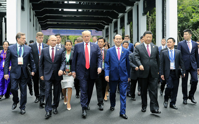 Những hình ảnh 'bên lề' Hội nghị cấp cao của các nhà Lãnh đạo APEC