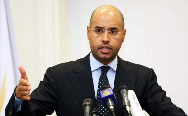 Con trai cố lãnh đạo Libya Gaddafi ra tù, tuyên bố tranh cử