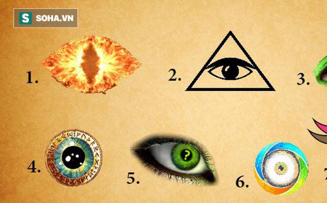 Khám phá bí mật của tiềm thức: Hãy chọn con mắt thu hút bạn nhất rồi xem kết quả