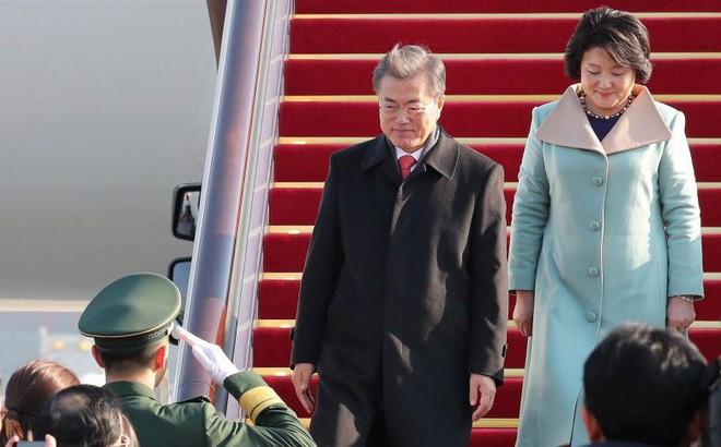 """Báo Hàn Quốc: TQ """"ghi thù"""" THAAD nên cử đại diện về Triều Tiên ra đón TT Moon Jae-in"""