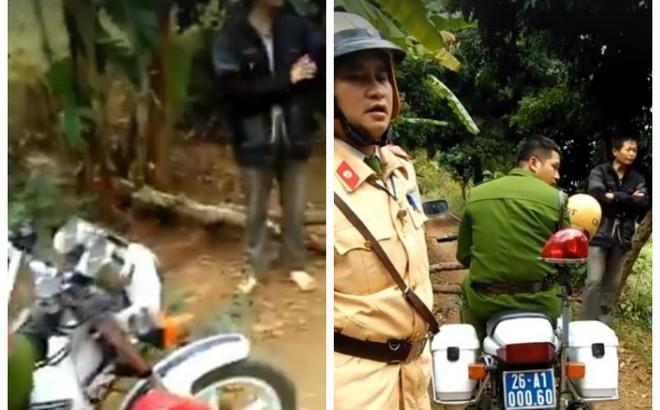"""Dân bản ở Sơn La chặn xe môtô cảnh sát giao thông """"đòi thu phí BOT"""""""