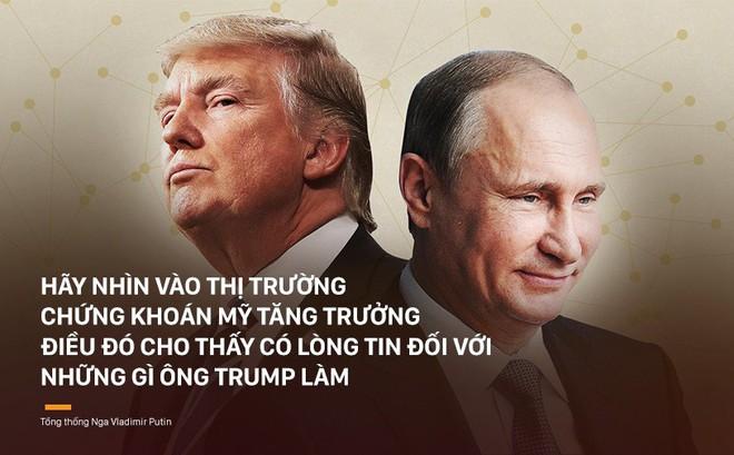 Tổng thống Putin khen ông Trump trong họp báo cuối năm