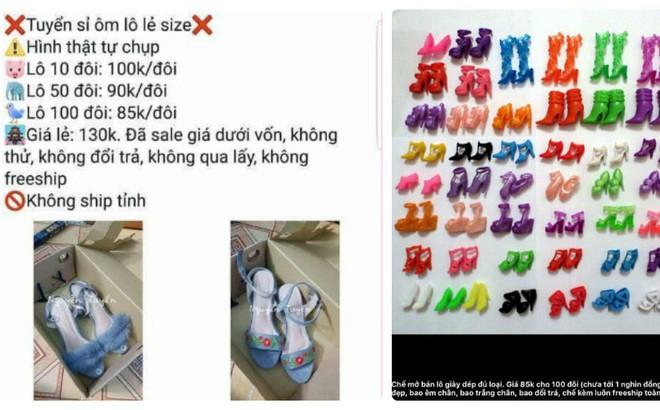 Nỗi khổ chủ shop giày: Khách đòi 100 đôi tổng 85 nghìn, mua không được thì chửi lừa đảo
