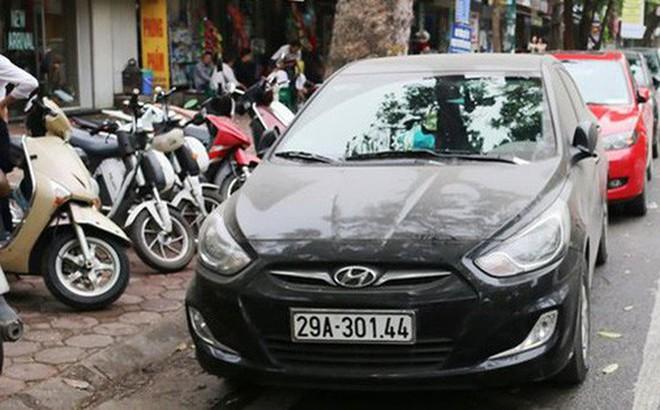 Từ 1/1/2018: Phí trông ô tô tại Hà Nội cao nhất 60 nghìn đồng/lượt