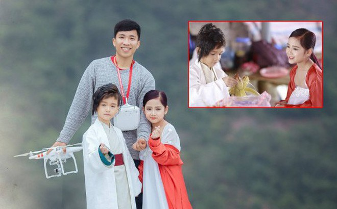 Nhiếp ảnh gia Bút Đỗ: Chụp với mẫu nhí Khánh Linh, Hữu Nhật vui lắm, có điều hai bé hay… đòi ăn
