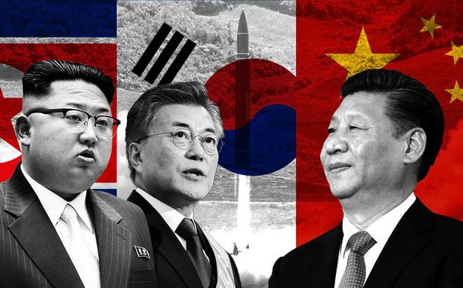 """Quy luật thú vị khiến """"tam giác"""" Trung-Hàn-Triều dù băng giá đến đâu cũng phải ấm lại"""