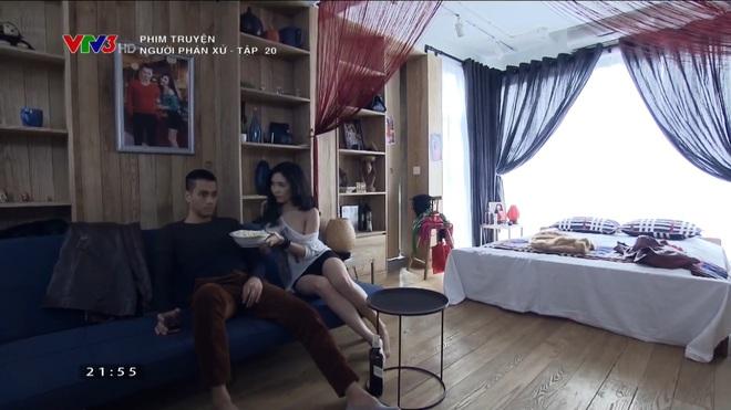 Bạn gái Phan Hải gây tranh cãi khi toàn mặc hở hang trong phim Người phán xử - Ảnh 11.