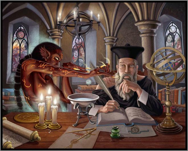 Giải mã tài tiên tri ma quỷ nghìn năm của Nostradamus - Ảnh 1.