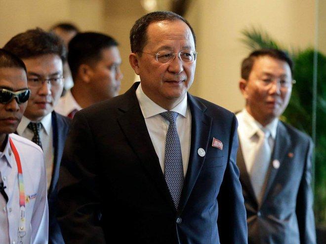 Những chuyện thú vị chưa kể về Ngoại trưởng Triều Tiên Ri Yong Ho - Ảnh 2.