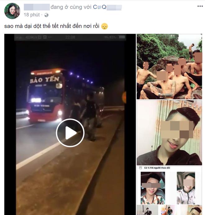 Tài khoản phát livestream vụ chặn đường xin tiền ngập tràn bình luận bất bình của bạn bè - Ảnh 1.