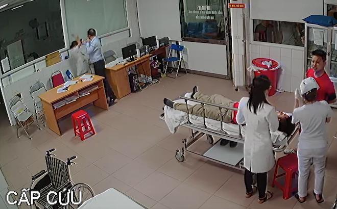 Chủ tịch phường nói lý do xuất hiện trong đoạn video đánh bác sỹ ở bệnh viện
