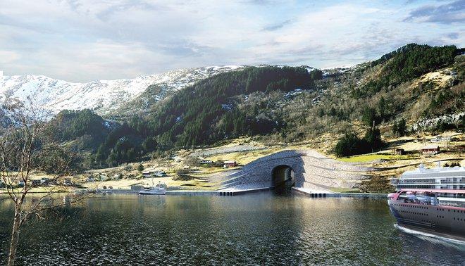 Na Uy chi hơn 300 triệu USD xây đường hầm xuyên núi dành riêng cho tàu thủy - Ảnh 2.