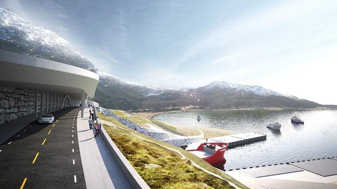 Na Uy chi hơn 300 triệu USD xây đường hầm xuyên núi dành riêng cho tàu thủy - Ảnh 1.