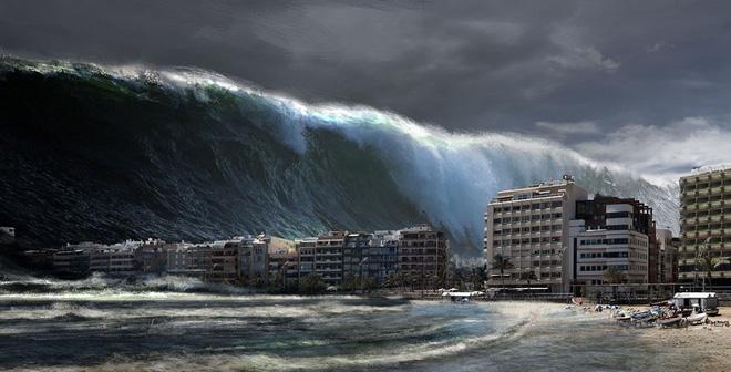 Cao hơn 40m, đây là trận sóng thần kinh hoàng nhất trong lịch sử thời hiện đại - Ảnh 1.